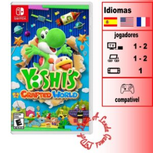 Yoshi's Crafted World - SWITCH - Novo