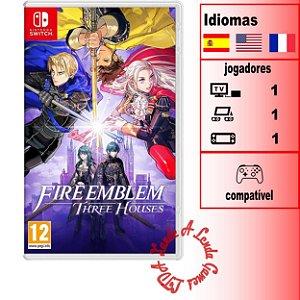 Fire Emblem Three Houses - SWITCH - Novo