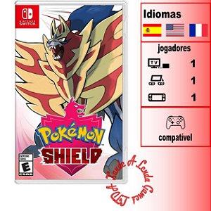 Pokémon Shield - SWITCH - Novo [EUA]