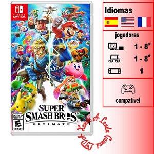 Super Smash Bros Ultimate - SWITCH - Novo [EUA]
