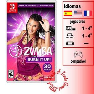 Zumba Burn It Up! - SWITCH - Novo