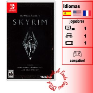 The Elder Scrolls V: Skyrim - SWITCH - Novo