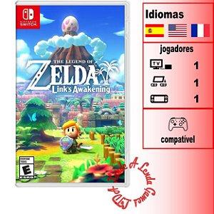 The Legend of Zelda Link's Awakening - SWITCH - Novo