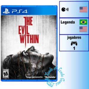 The Evil Within - PS4 - Novo