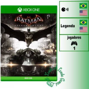 Batman Arkham Knight - XBOX ONE - Novo