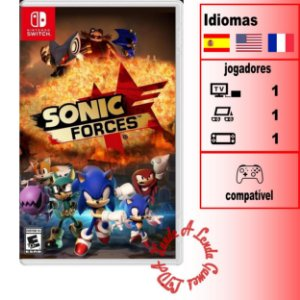 Sonic Forces - SWITCH - Novo