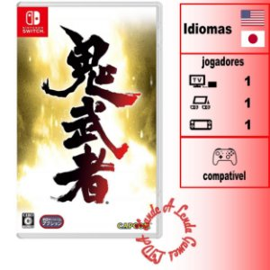 Onimusha Warlords - SWITCH - Novo
