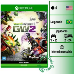 Plants vs Zombies Garden Warfare 2 - XBOX ONE - Novo