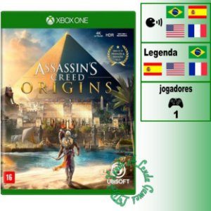 Assassin's Creed Origins - XBOX ONE - Novo