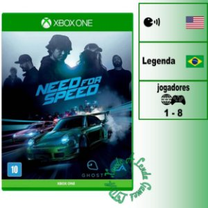 Need for Speed 2015  - XBOX ONE - Novo