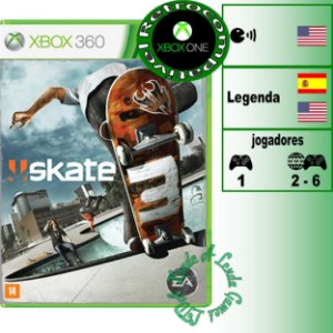 Skate 3 - XBOX 360 - Novo