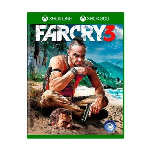 Far Cry 3 - XBOX ONE - XBOX 360 - Novo