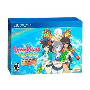 Senran Kagura Peach Beach Splash: No Shirt No Shoes All Service Edition - PS4 - Novo
