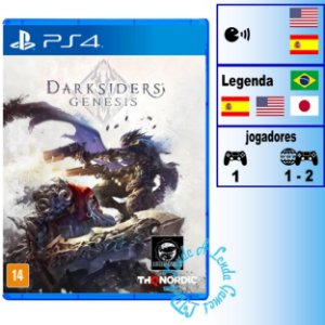 Darksiders Genesis - PS4 - Novo