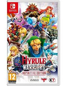Hyrule Warriors: Definitive Edition - SWITCH - Novo [EUROPA]