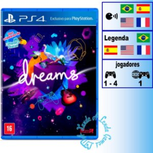 Dreams - PS4 - Novo