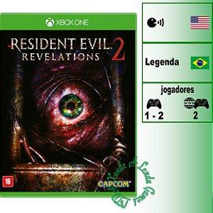 Resident Evil Revelations 2 - XBOX ONE - Novo