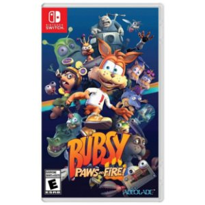 Bubsy Paws on Fire - SWITCH - Novo