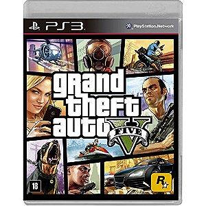 Grand Theft Auto 5 (GTA V) - PS3 - Novo