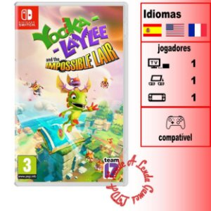 Yooka-Laylee and the Impossible Lair - SWITCH - Novo