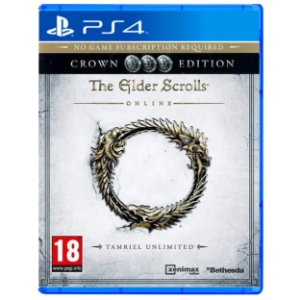 The Elder Scrolls Online Crown Edition - PS4 - Novo