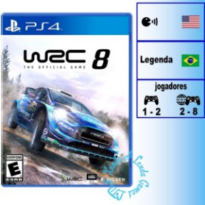WRC 8 (FIA World Rally Championship) - PS4 - Novo