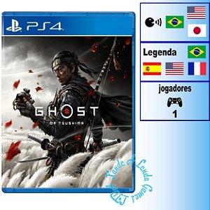 Ghost of Tsushima - PS4 - Novo