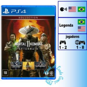 Mortal Kombat 11 Aftermath Kollection - PS4 - Novo