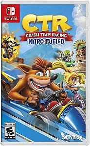 Crash Team Racing Nitro-Fueled - SWITCH - Novo [EUA]