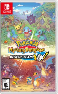 Pokémon Mystery Dungeon: Rescue Team Dx - SWITCH - Novo