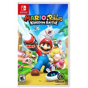 Mario + Rabbids Kingdom Battle - SWITCH - Novo [EUA]