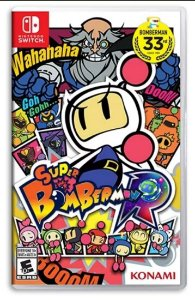 Super Bomberman R - SWITCH - Novo