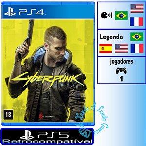 Cyberpunk 2077 Edição Day One - PS4 / PS5 - Novo