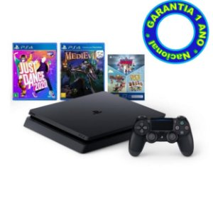 Console PlayStation 4 Slim Mega Pack 11 (Nacional) - Novo