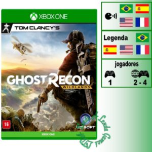 Tom Clancy's Ghost Recon Wildlands - XBOX ONE - Novo