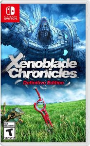 Xenoblade Chronicles Definitive Edition - SWITCH - Novo