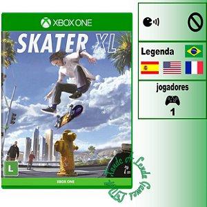 Skater XL - XBOX ONE - Novo