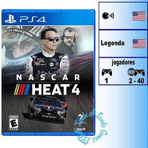 Nascar Heat 4 - PS4 - Novo