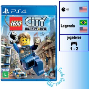 LEGO City Undercover - PS4 - Novo