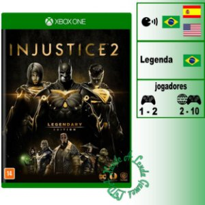 Injustice 2 Legendary Edition - XBOX ONE - Novo
