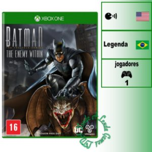 Batman The Enemy Within - XBOX ONE - Novo