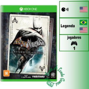 Batman Return to Arkham - XBOX ONE - Novo