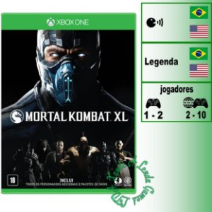 Mortal Kombat XL - XBOX ONE - Novo