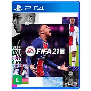 FIFA 21 - PS4 / PS5 - Novo