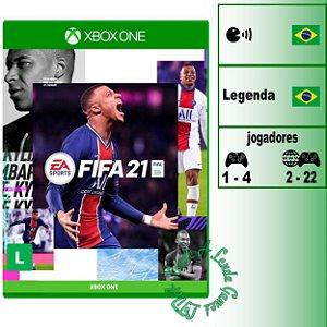 FIFA 21 - XBOX ONE - Novo