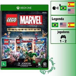 LEGO Marvel Collection - XBOX ONE - Novo