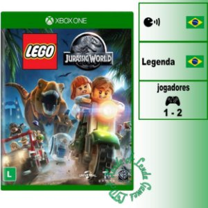 LEGO Jurassic World - XBOX ONE - Novo