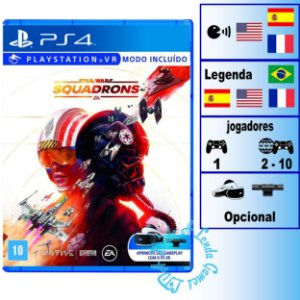 Star Wars Squadrons - PS4 - Novo