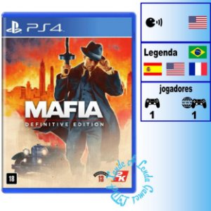 Máfia Definitive Edition - PS4 - Novo