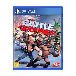 WWE 2K Battlegrounds - PS4 - Novo